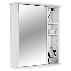 Botiquín para baño 58x66,2x22 cm blanco