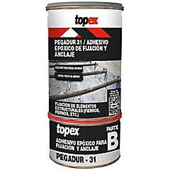 Juego (A+B) 1 kg Topex Pegadur 31 Adhesivo epóxico para anclajes y uniones