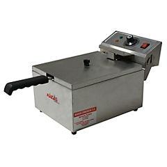 Freidora eléctrica 2500 W gris