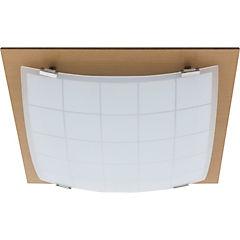 Plafón 32x32 cm 2 luces 60 W