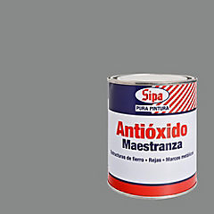 Pintura antióxido opaco 1/4 gl Gris