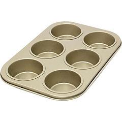 Molde para cupcakes aluminio 6 espacios