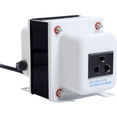 Transformador de voltaje 500 w macrotel 1475460 - Transformador 220 a 110 ...
