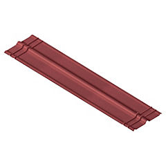 Cumbrera Onduline rojo, 2000 x1850 x520 x3mm