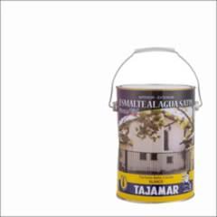 TAJAMAR - Esmalte al agua satinado blanco 1 gl