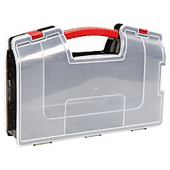 Caja organizadora 8,5x37,4x25 cm plástico