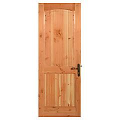 Puerta Trancura pino oregón