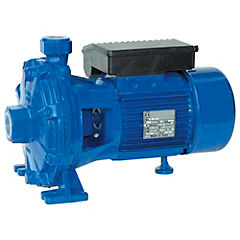 Electrobomba centrífuga doble impulsor 2 HP 160 l/min