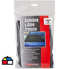 Sombrilla para ventana micromalla Negro