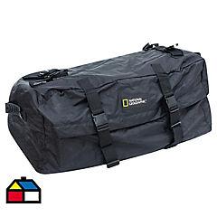 Bolso portaequipaje 44x76x88 cm 327 litros poliéster negro