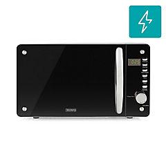 Horno microondas digital 20 litros gris