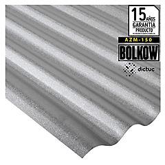 0.35 x 851 x 3000 mm, Plancha Acanalada Onda Toledana Zincalum gris