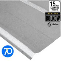 BOLKOW - 0.35 x 895 x 2000 mm. Plancha 5V gris Recubrimiento AZM150