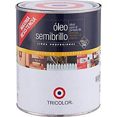 Óleo semibrillante 1/4 gl Blanco
