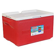 Nevera rígida con manillas 32 litros rojo