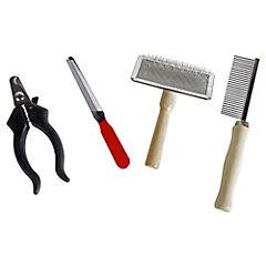 Set de peluquería para perro 4 piezas