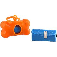 Dispensador de bolsas para perro