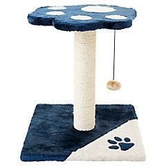 Rascador para gato con gatera 40x40x44 cm