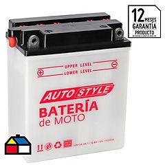 Batería para motocicleta 12 V 12 A