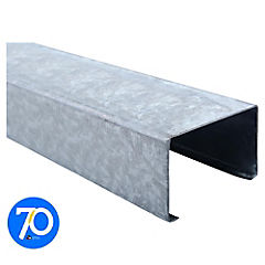 4m Perfil C 2x3x0,85 Metalcon estructural