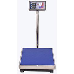 Balanza electrónica 300 kg gris/azul