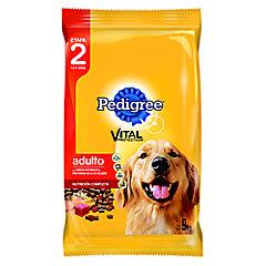 Alimento seco para perro adulto 9 kg carne, pollo y cereal