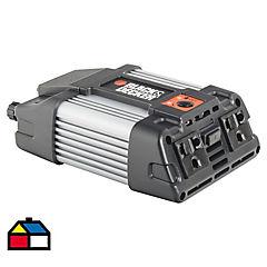 Inversor de corriente 12 V 400 W Negro