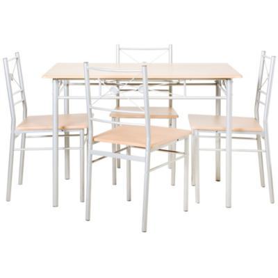 Juego de comedor 4 sillas cherry - Sodimac.com