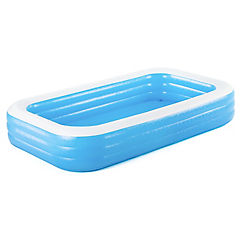 Piscina inflable 1302 litros azul