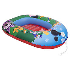 Bote inflable plástico azul