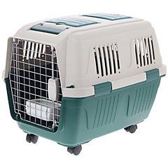 Jaula de transporte para mascota 92x64x67 cm