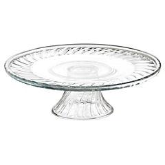 Plato para torta 31 cm Transparente