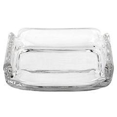 Cenicero 3x9,3 cm vidrio Transparente