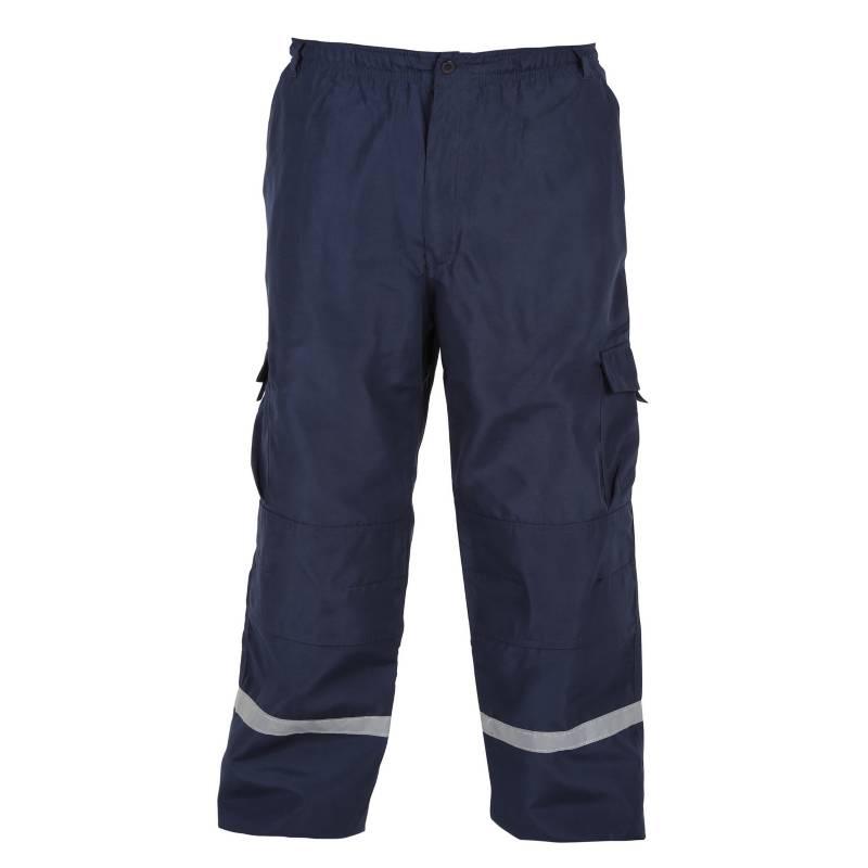 ALASKA - Pantalón Trabajo Cargo Azul L