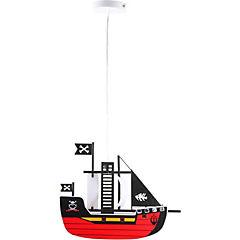 Lámpara colgante infantil 120 cm 60 W Barco pirata