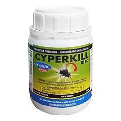 Insecticida Cyperkill 10 ec 100 cc interior y baja toxicidad