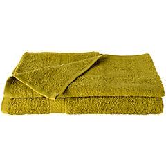 Juego de toallas de baño y mano 360 gr 2 unidades Pistacho