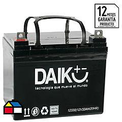 Batería de automóvil 33 A 12 V Izquierdo positivo