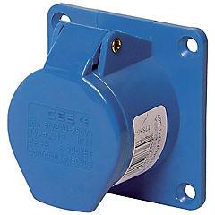 Tomacorriente industrial embutida 16 A 2P+T 220V IP44