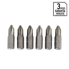 Set de puntas Phillips 6 unidades