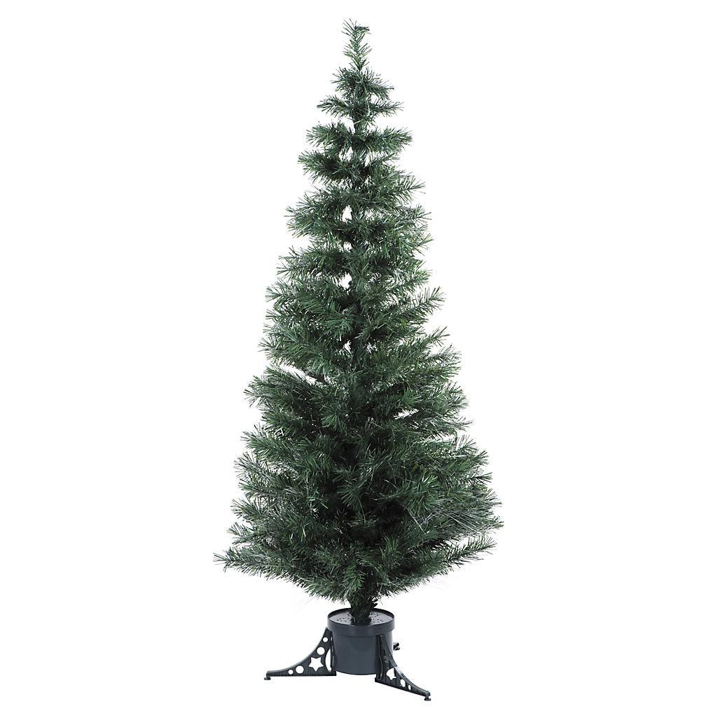 Árbol navideño de fibra óptica color verde 1.80 metros - Sodimac.com