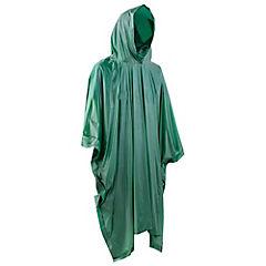 Capa impermeable verde