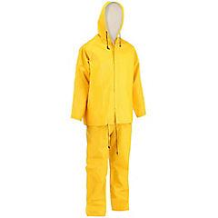 Traje impermeable talla XXL amarillo