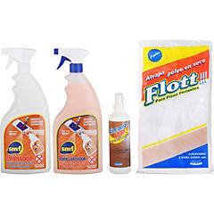 Kit de limpieza para piso flotante 4 piezas