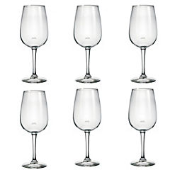 Set de copas de vino cristal 540 ml 6 unidades