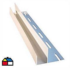 3.80 m Perfil F, Vinyl siding
