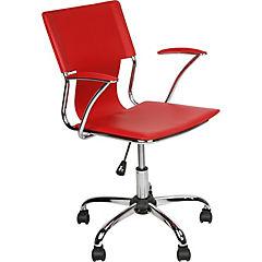 Silla para PC 93x55x56 cm rojo