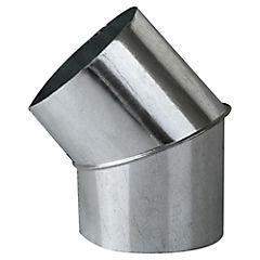 Curva para tubo Acero galvanizado 4-1/2