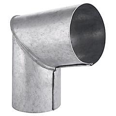 Codo para tubo Acero galvanizado 3-1/2