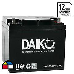 Batería de automóvil 44 A 12 V Frontal